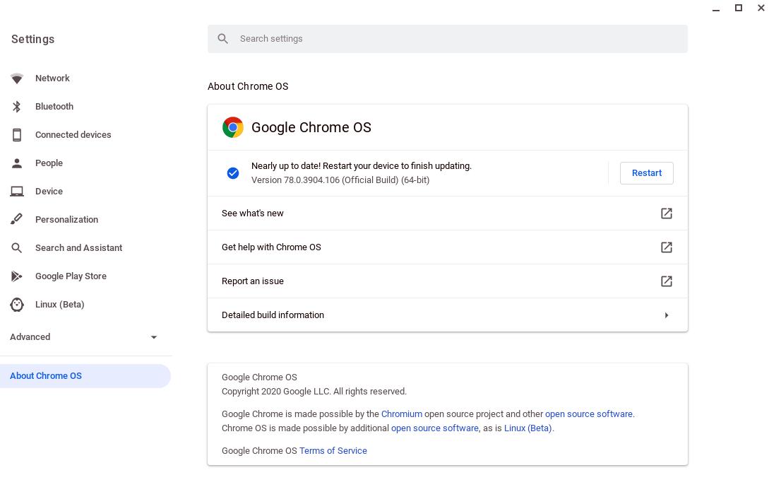 Chrome help